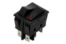 32x25 mm SP, DP Rocker Switch